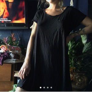 AEO black swing dress